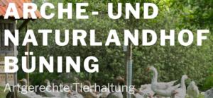 Arche- und Naturlandhof Büning – Artgerechte Tierhaltung im Münsterland